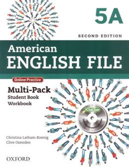 Picture of AMERICAN ENGLISH FILE 5A MULTIPACK WITH ONLINE PRACTICE AND ICHECKER - 2ND ED