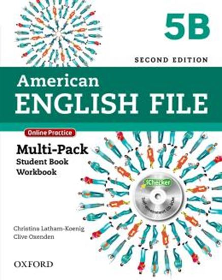 Picture of AMERICAN ENGLISH FILE 5B MULTIPACK WITH ONLINE PRACTICE AND ICHECKER - 2ND ED
