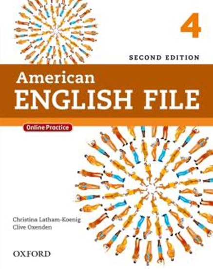 Picture of AMERICAN ENGLISH FILE 4 STUDENTS BOOK - 2ND ED