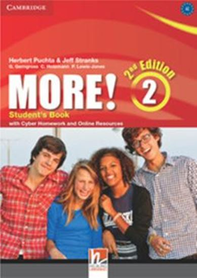 Picture of MORE! LEVEL 2 - STUDENTS BOOK WITH CYBER HOMEWORK AND ONLINE RESOURCES - 2ND ED