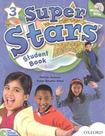 Picture of SUPER STARS 3 STUDENTS BOOK WITH MULTIROM PACK