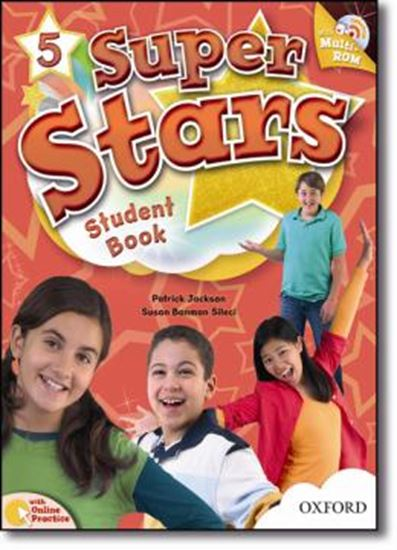 Picture of SUPER STARS 5 STUDENTS BOOK WITH MULTIROM PACK