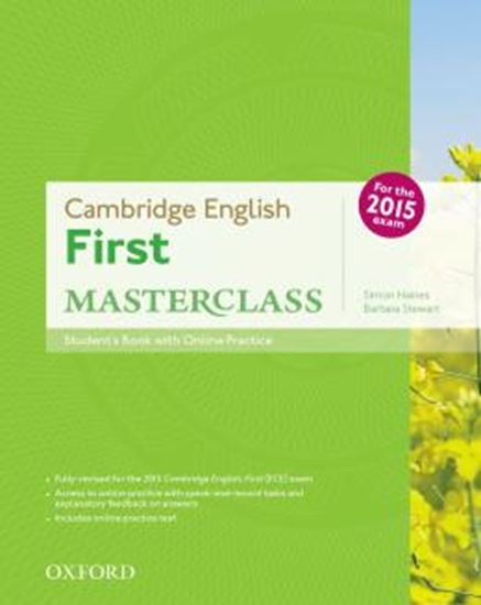 Picture of CAMBRIDGE ENGLISH FIRST MASTERCLASS STUDENTS BOOK AND ONLINE SKILLS PRACTICE PACK