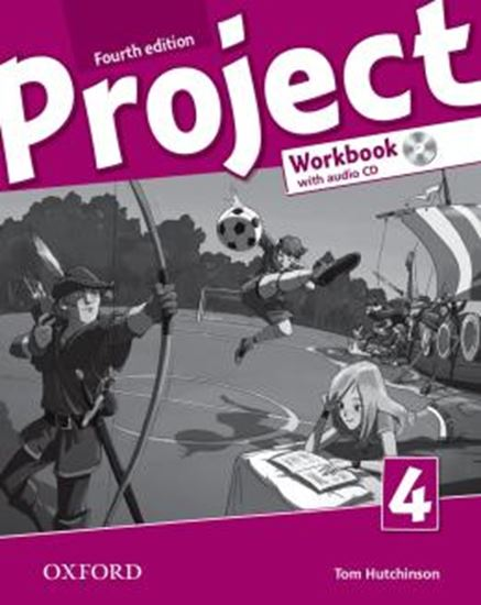 Picture of PROJECT 4 WORKBOOK WITH AUDIO CD - 4TH ED