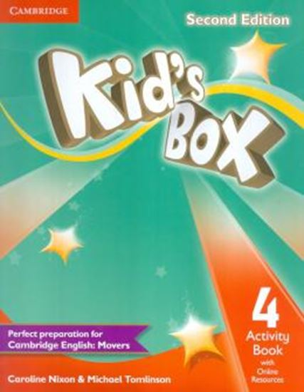 Picture of KIDS BOX 4 ACTIVITY BOOK WITH ONLINE RESOURCES - 2ND ED - BRITISH