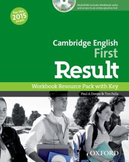 Picture of CAMBRIDGE ENGLISH FIRST RESULT WORKBOOK RESOURCE PACK WITH KEY