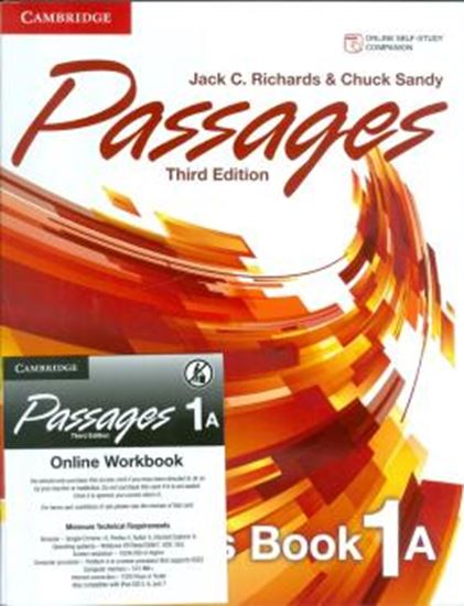Picture of PASSAGES 1 SB A  WITH ONLINE WB A - 3RD ED
