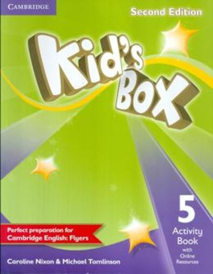 Picture of KIDS BOX 5 ACTIVITY BOOK WITH ONLINE RESOURCES - 2ND ED