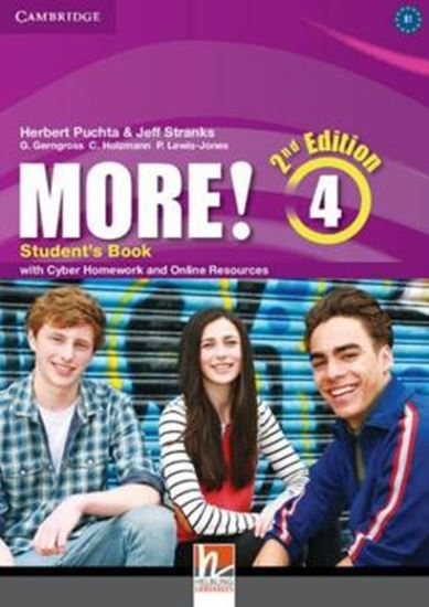 Picture of MORE! 4 SB WITH CYBER HOMEWORKAND ONLINE RESOURCES - 2ND ED