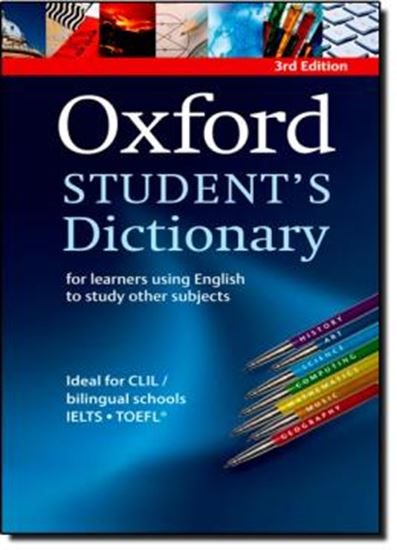 Picture of OXFORD STUDENTS DICTIONARY 3RD ED