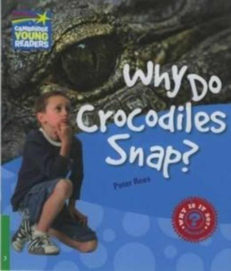 Picture of WHY DO CROCODILES SNAP? LEVEL 3 FACTBOOK