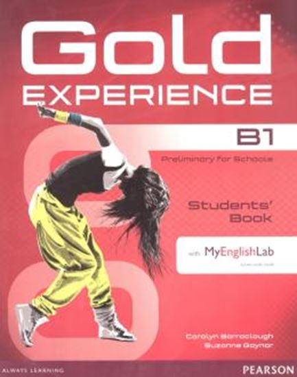 Picture of GOLD EXPERIENCE B1 SB WITH DVD-ROM AND MYENGLISHLAB