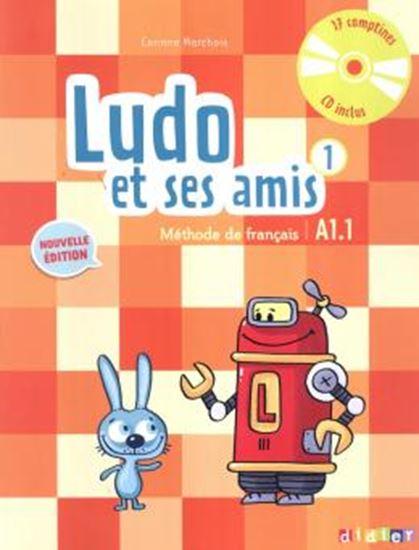 Picture of LUDO ET SES AMIS 1 LIVRE + CD AUDIO (A1.1) - NOUVELLE EDITION