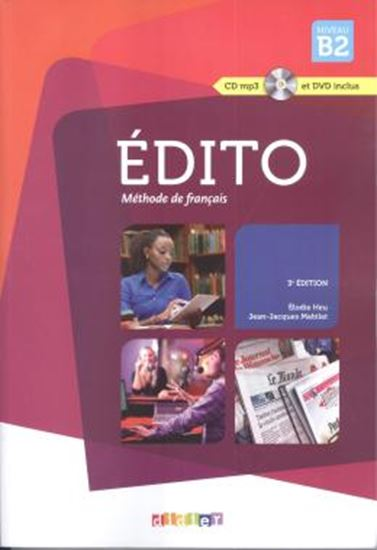 Picture of EDITO B2 LIVRE + CD + DVD - 3ª ED