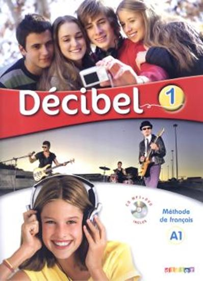 Picture of DECIBEL 1 LIVRE D´ELEVE + CD MP3 + DVD