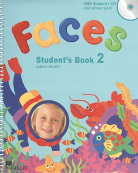 Picture of FACES 2 STUDENT´S BOOK PACK (SB/CD/STICKER PACK)