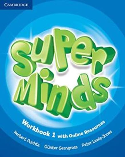 Picture of SUPER MINDS BRITISH 1 WB WITH ONLINE RESOURCES