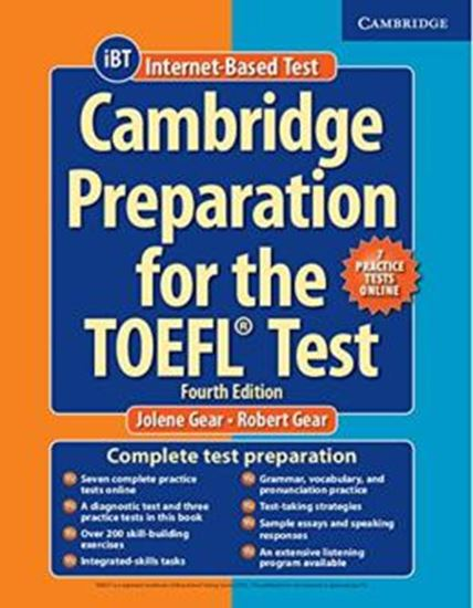 Picture of CAMBRIDGE PREPARATION FOR THE TOEFL TEST WITH ONLINE PRACTICE TESTS - 4TH ED