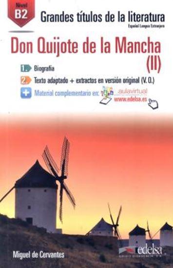 Picture of DON QUIJOTE DE LA MANCHA (II) B2 - AUDIO DESCARGABLE EN PLATAFORMA