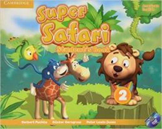Picture of SUPER SAFARI 2 AMERICAN ENGLISH SB WITH DVD-ROM