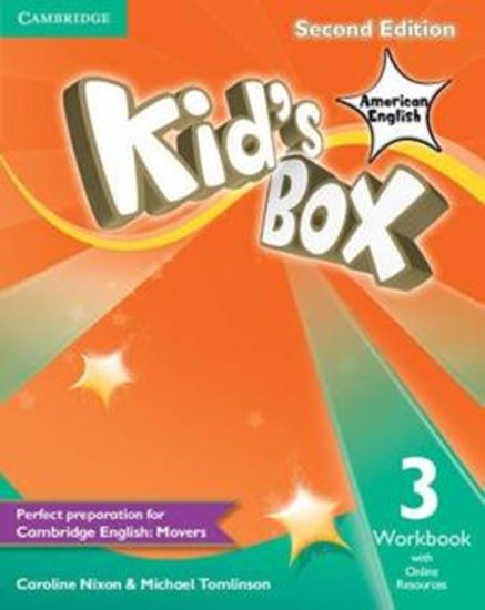 Picture of KIDS BOX AMERICAN ENGLISH 3 WB WITH ONLINE RESOURCES - 2ND ED