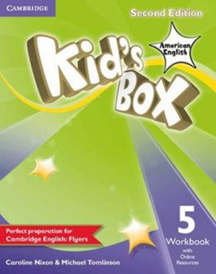 Picture of KIDS BOX AMERICAN ENGLISH 5 WB WITH ONLINE RESOURCES - 2ND ED