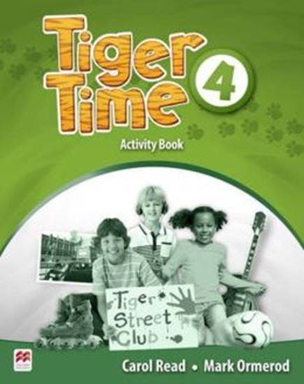 Picture of TIGER TIME 4 ACTIVITY BOOK