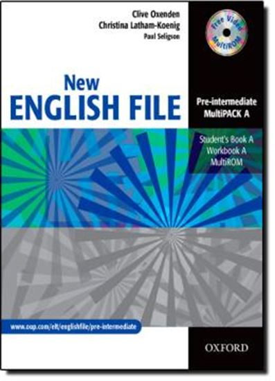 Picture of NEW ENGLISH FILE PRE-INTERMEDIATE MULTIPACK A (STUDENT´S BOOK / WORKBOOK / MULTIROM)