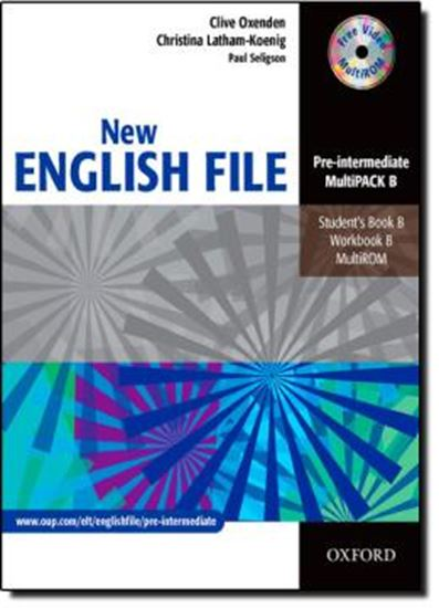 Picture of NEW ENGLISH FILE PRE-INTERMEDIATE MULTIPACK B (STUDENT´S BOOK / WORKBOOK / MULTIROM)