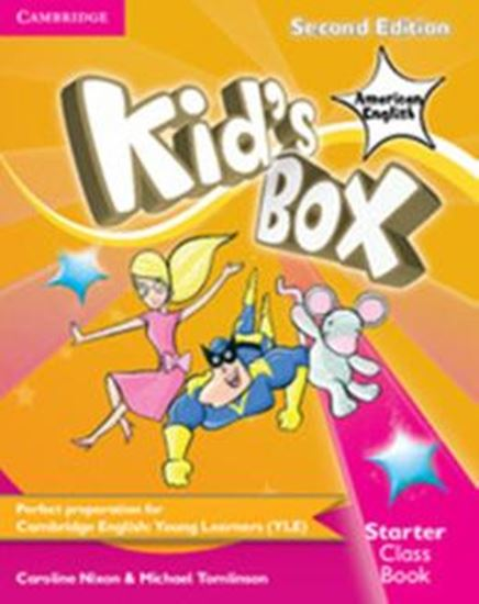 Picture of KIDS BOX AMERICAN ENGLISH STARTER - CLASS BOOK WITH CD-ROM - 2ND