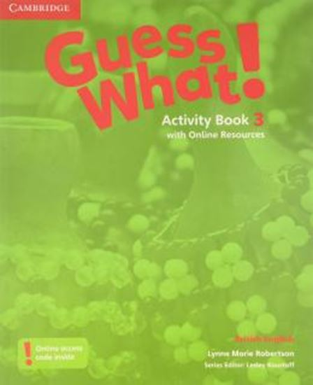 Picture of GUESS WHAT! 3 ACTIVITY BOOK WITH ONLINE RESOURCES - BRITISH