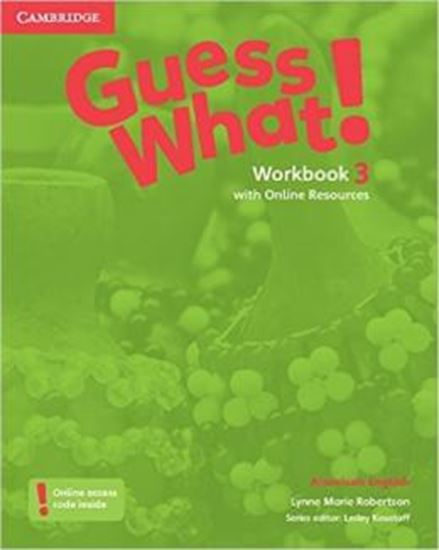 Picture of GUESS WHAT! 3 WB WITH ONLINE RESOURCES - AMERICAN