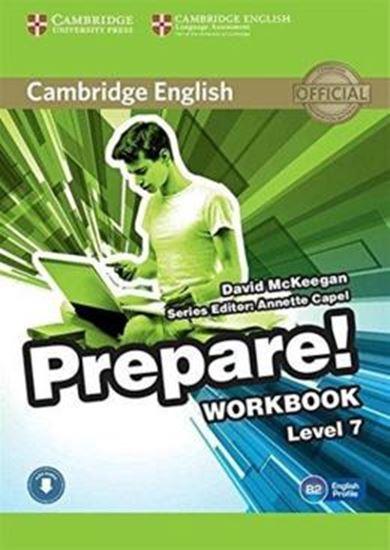 Picture of CAMBRIDGE ENGLISH PREPARE! 7 WB WITH AUDIO