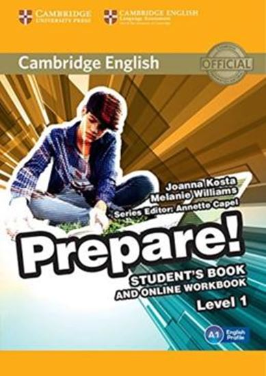 Picture of CAMBRIDGE ENGLISH PREPARE! 1 SB WITH ONLINE WB