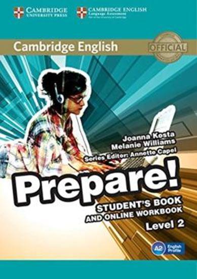 Picture of CAMBRIDGE ENGLISH PREPARE! 2 SB WITH ONLINE WB