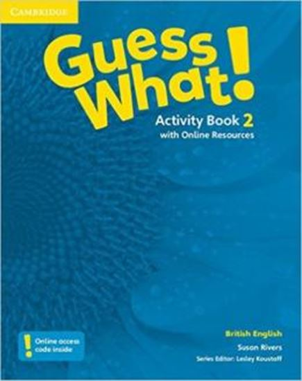 Picture of GUESS WHAT! 2 ACTIVITY BOOK WITH ONLINE RESOURCES - ENGLISH BRITISH