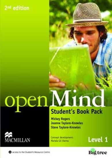 Picture of OPEN MIND 1 SB WITH DVD AND WEBCODE  - 2ND ED