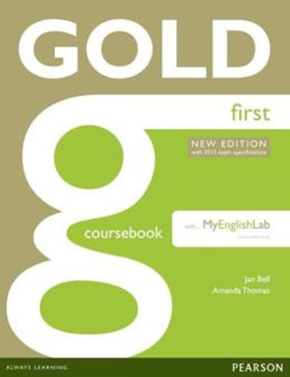 Picture of GOLD FIRST COURSEBOOK WITH MYENGLISHLAB - 2ND ED