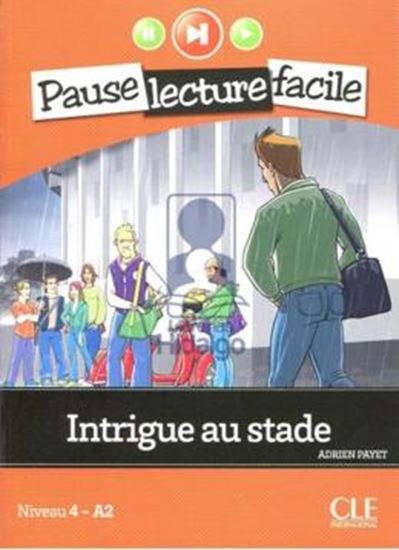 Picture of INTRIGUE AU STADE - LIVRE + CD AUDIO (A2)