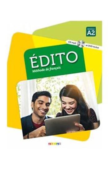 Picture of EDITO NIVEAU A2 - LIVRE + CD MP3 + DVD