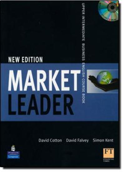 Picture of MARKET LEADER UPPER-INTERMEDIATE STUDENT´S BOOK WITH CD-ROM NEW EDITION