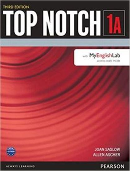 Picture of TOP NOTCH 1A SB WITH MYENGLISHLAB - 3RD ED