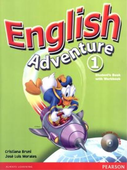 Picture of ENGLISH ADVENTURE 1 STUDENTS BOOK ACTIVITY BOOK WITH CD-ROM