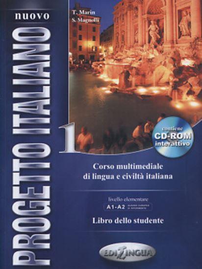 Picture of NUOVO PROGETTO ITALIANO 1 - LIBRO DELLO STUDENTE + CD-ROM