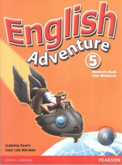 Picture of ENGLISH ADVENTURE 5 STUDENT´S BOOK WITH WORKBOOK - CD-ROM INCLUDED