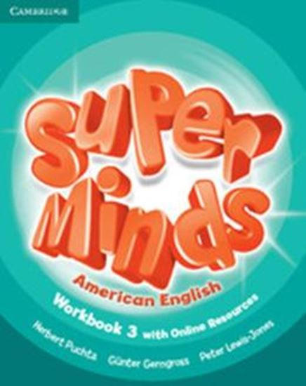 Picture of SUPER MINDS AMERICAN ENGLISH LEVEL 3 - WORKBOOK WITH ONLINE RESOURCES
