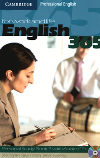 Picture of ENGLISH 365 PERSONAL STUDY BOOK 3 WITH CD