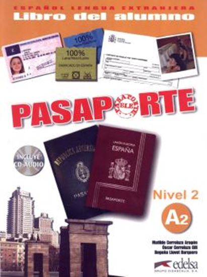 Picture of PASAPORTE LIBRO DEL ALUMNO A2 INCLUYE CD-AUDIO