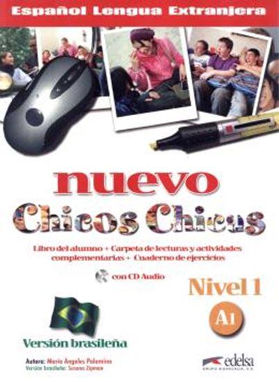 Picture of NUEVO CHICOS CHICAS NIVEL 1 - A1 - LIBRO DEL ALUMNO+ EJERCICIOS + CD AUDIO - VERSION BRASILENA