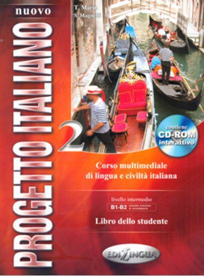 Picture of NUOVO PROGETTO ITALIANO 2 - LIBRO DELLO STUDENTE + CD-ROM